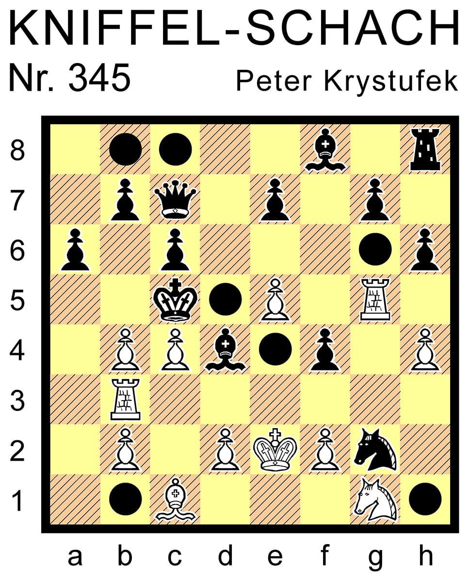 Kniffel-Schach Nr. 345