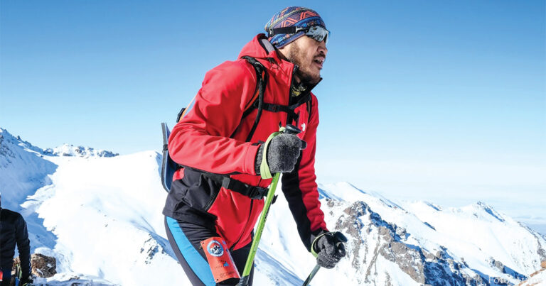 Der lange Weg zum Profi-Alpinisten