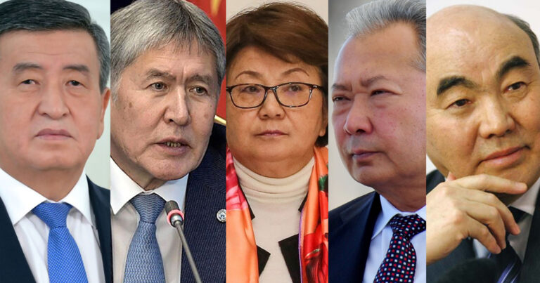 Präsidenten Kirgisistans: So erging es Schaparows Vorgängern