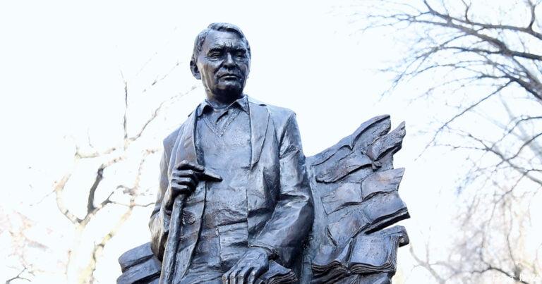 Denkmal für Herold Belger in Almaty eröffnet