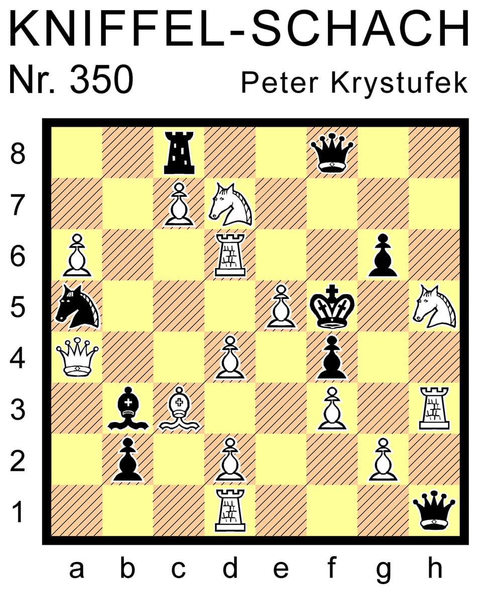 Kniffel-Schach Nr. 350