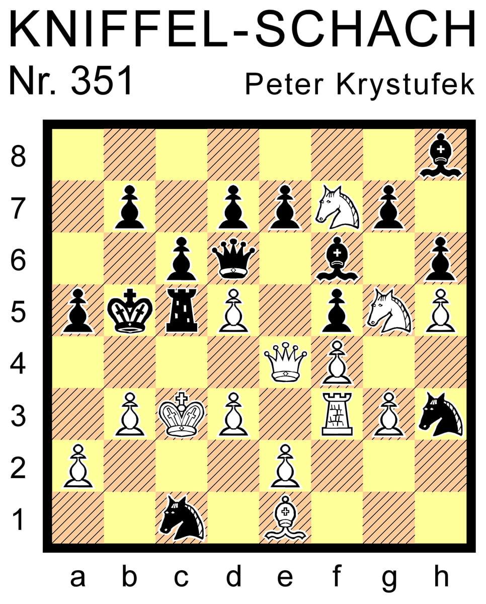 Kniffel-Schach Nr. 351