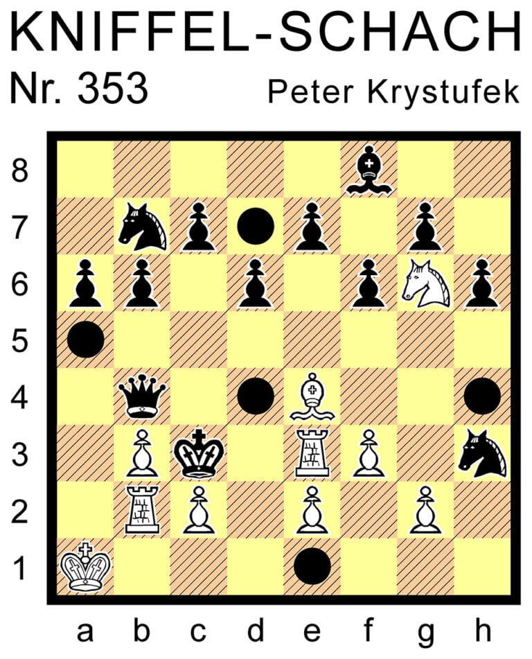 Kniffel-Schach Nr. 353