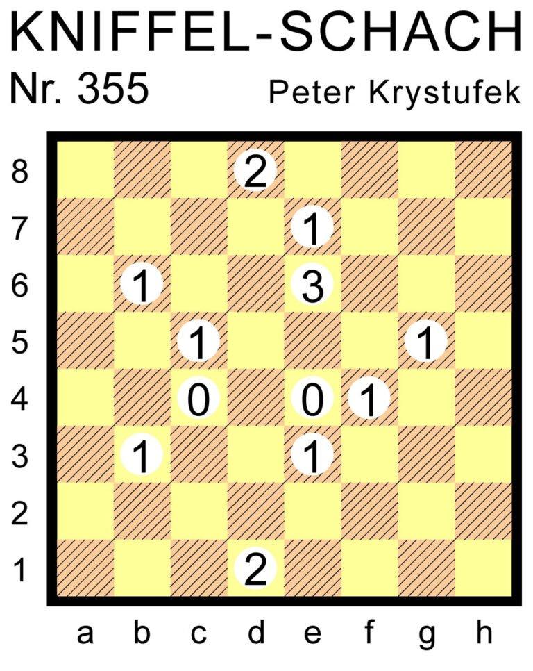 Kniffel-Schach Nr. 355