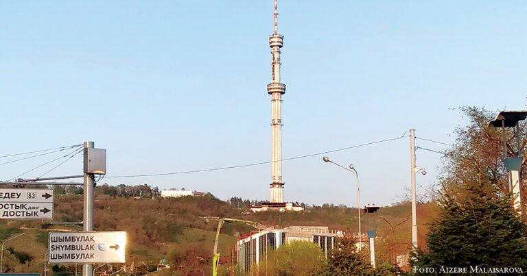 Kök-Töbe – der Hausberg der Stadt Almaty