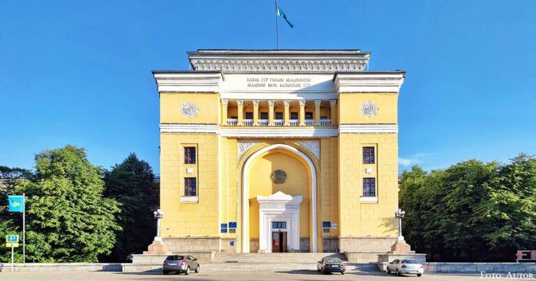 Qanysch Sätbajew und die Kasachische Akademie der Wissenschaften