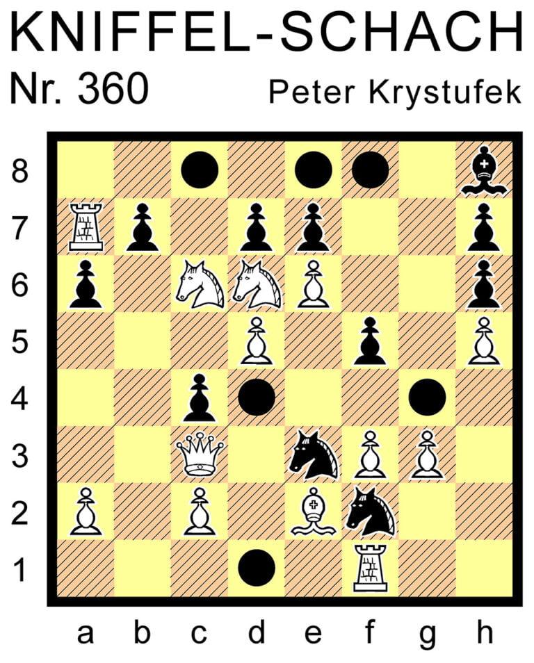 Kniffel-Schach Nr. 360