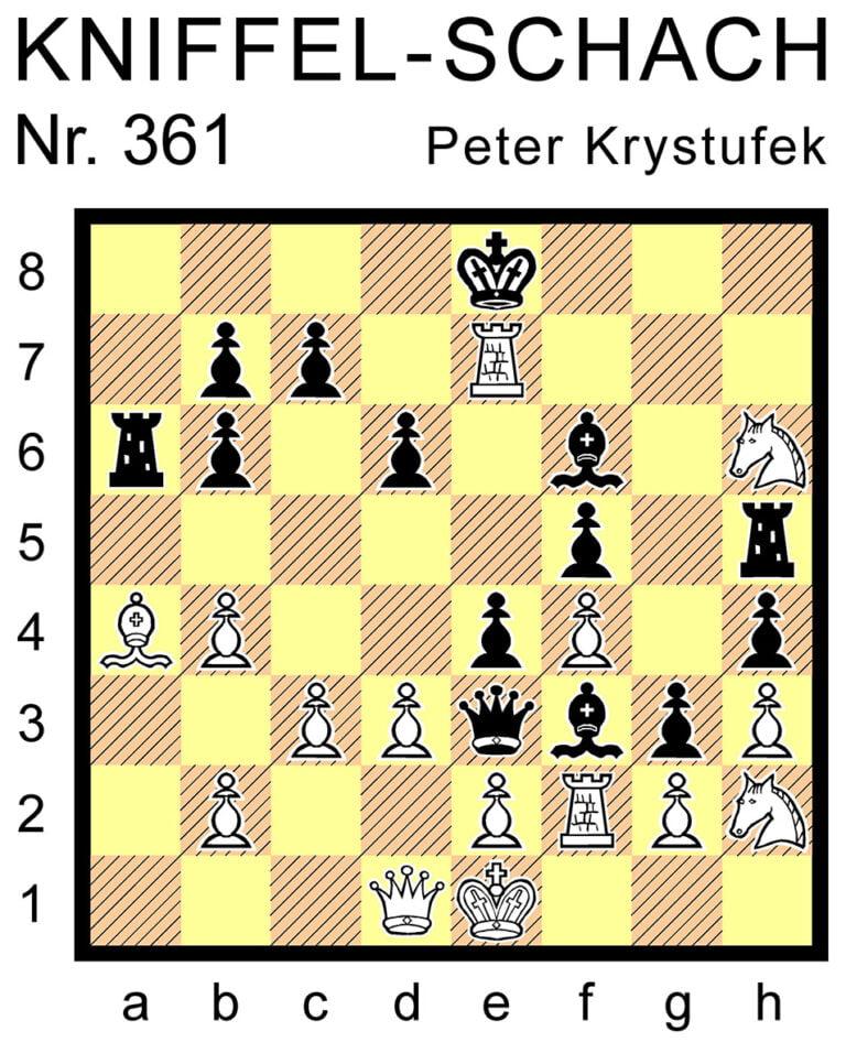 Kniffel-Schach Nr. 361