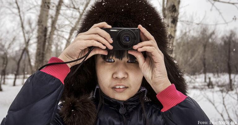 """""""Es ist ganz normal, dass blinde Menschen gut fotografieren"""""""