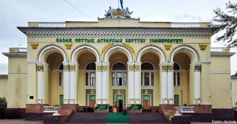 Oras Dschandosow und das Kasachische Landwirtschaftsinstitut