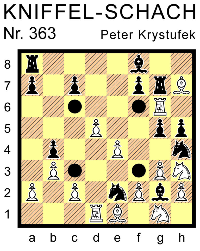 Kniffel-Schach Nr. 363