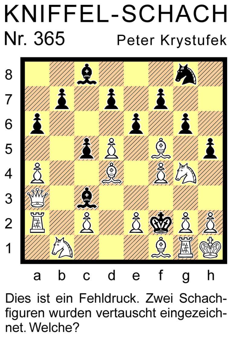 Kniffel-Schach Nr. 365