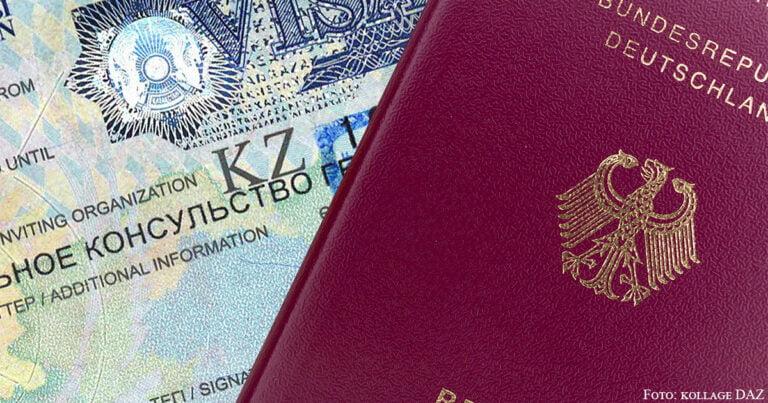 Kasachstan setzt Visafreiheit für Deutsche wieder in Kraft