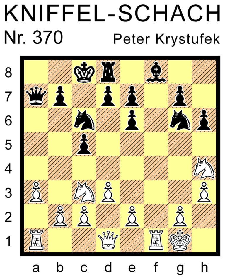Kniffel-Schach Nr. 370