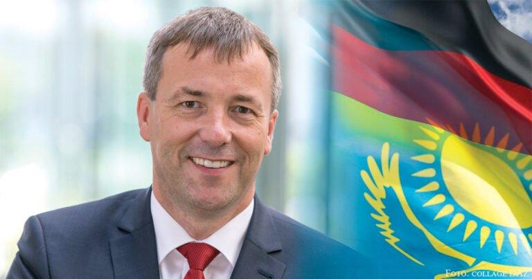 Regierungskoordinator Saathoff in Kasachstan